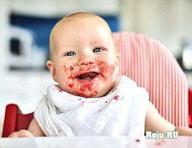Введение прикорма ребёнку
